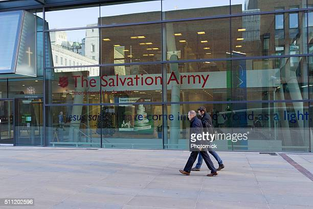 salvation army headquarters in london - salvation army stock photos and pictures