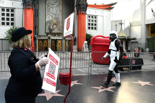 CA: The Salvation Army And  TCL Chinese Theatre Host Red Kettle Drive-Thru Donation Event