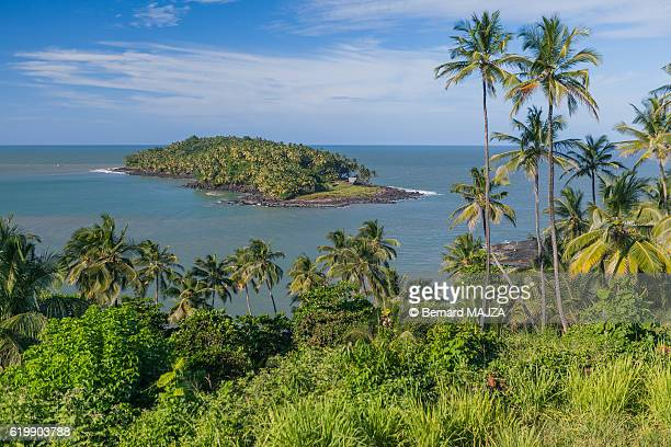 salvation islands - devil island - guayana francesa fotografías e imágenes de stock