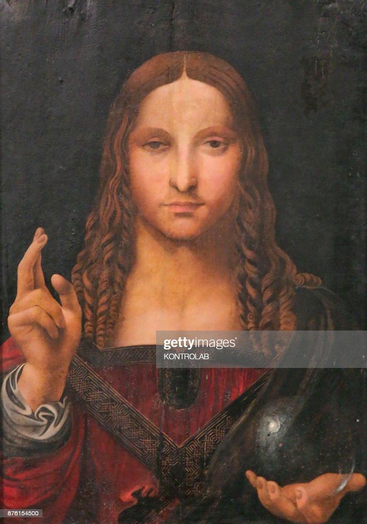 Salvator Mundi, a presumed Leonardo Da Vinci painting found