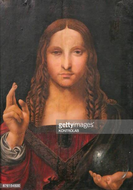Salvator Mundi a presumed Leonardo Da Vinci painting found in Naples sparked by the secrets of the church of San Domenico Maggiore and attributed to...