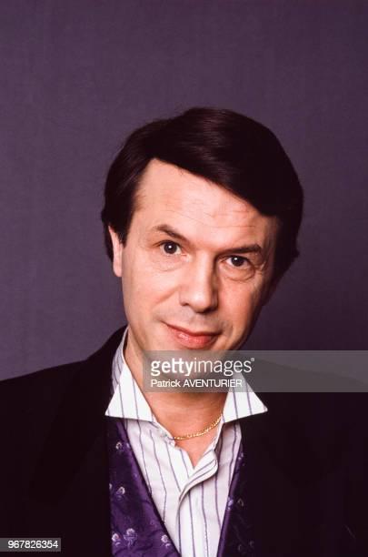 Salvatore Adamo le 16 mai 1987 à Paris France