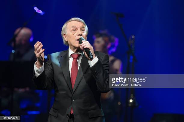 Salvatore Adamo performs at L'Olympia on March 16, 2018 in Paris, France.