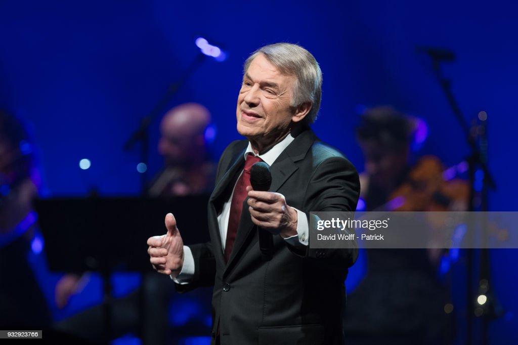 Adamo Performs At L'Olympia In Paris