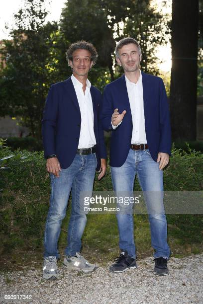 Salvatore Ficarra and Valentino Picone attend Ciak D'Oro 2017 at Link Campus University on June 8 2017 in Rome Italy