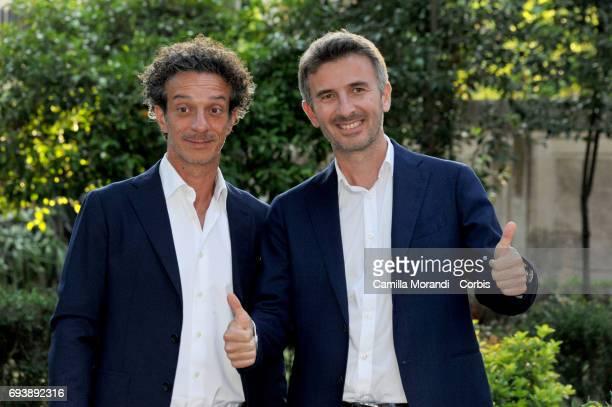 Salvatore Ficarra and Valentino Picone attend Ciak D'Oro 2017 on June 8 2017 in Rome Italy