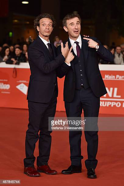 Salvatore Ficarra and Valentino Picone attend the 'Andiamo A Quel Paese' Red Carpet during the 9th Rome Film Festival on October 25 2014 in Rome Italy
