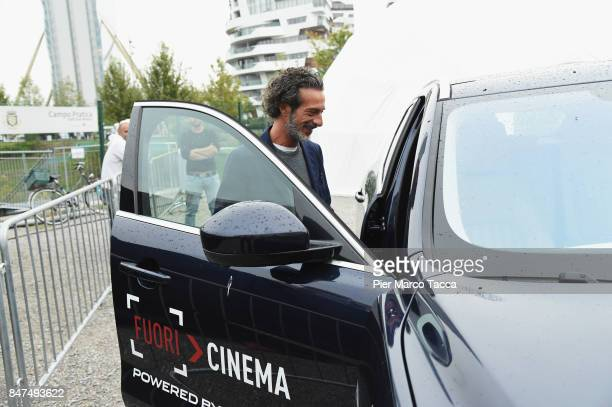 Salvatore Ficarra attends FuoriCinema on September 15 2017 in Milan Italy