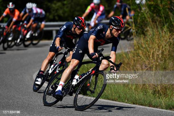 Salvatore Puccio of Italy and Team INEOS Grenadiers / during the 55th Tirreno-Adriatico 2020, Stage 2 a 201km stage from Camaiore to Follonica /...