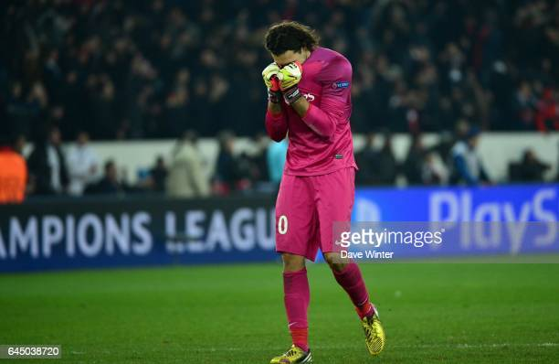 Salvatore SIRIGU Paris Saint germain / Barcelone 1/4Finale aller Champions League Photo Dave Winter / Icon Sport
