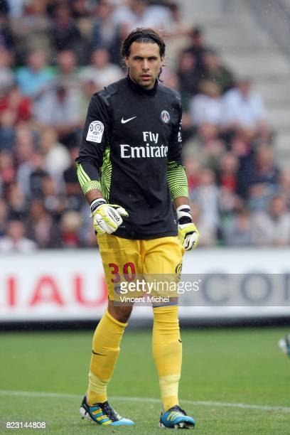 Salvatore SIRIGU Rennes / PSG 2eme journee de Ligue 1
