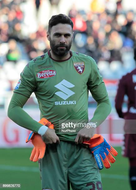 Salvatore Sirigu during Serie A match between Torino v Genoa in Turin on December 30 2017