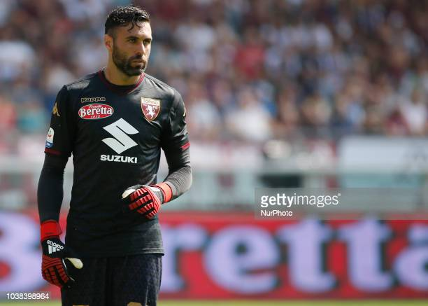 Salvatore Sirigu during Serie A match between Torino v Napoli in Turin on September 23 2018
