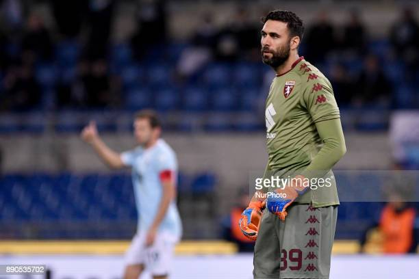Salvatore Sirigu of Torino during the Serie A match between Lazio and Torino at Olympic Stadium Roma Italy on 11 December 2017