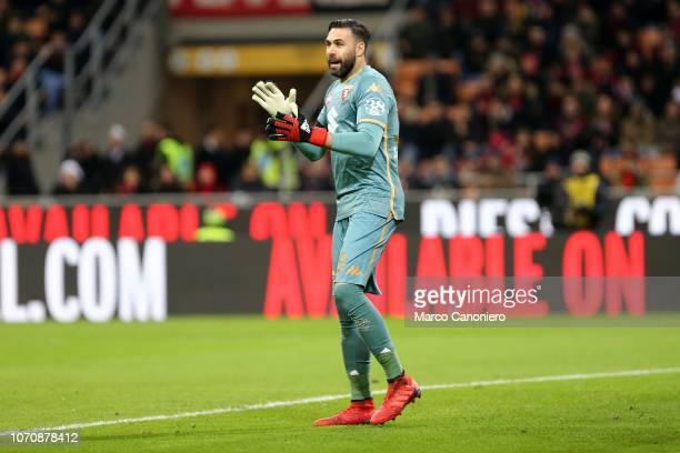 Salvatore Sirigu of Torino FC during the Serie A football match between Ac Milan and Torino Fc The match end in a tie 00