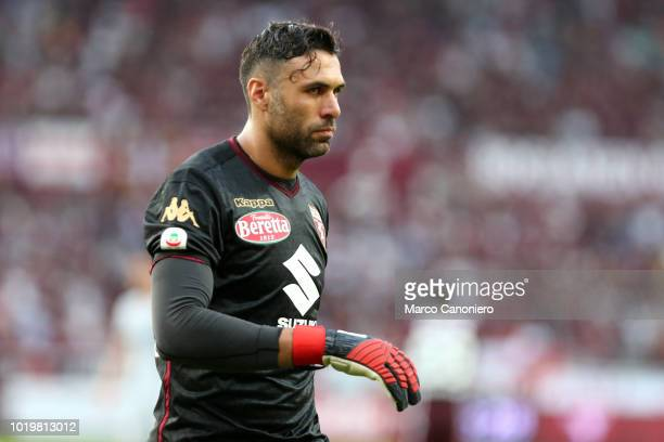 Salvatore Sirigu of Torino FC during the Serie A football match between Torino Fc and As Roma