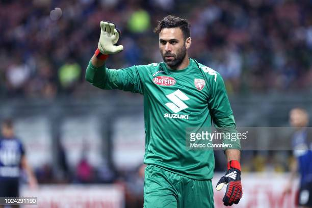 Salvatore Sirigu of Torino FC during the Serie A football match between FC Internazionale and Torino Fc