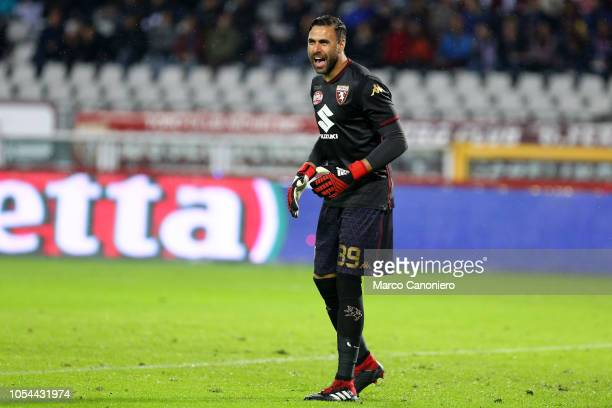 Salvatore Sirigu of Torino FC during the Serie A football match between Torino Fc and Acf Fiorentina The match end in a tie 11