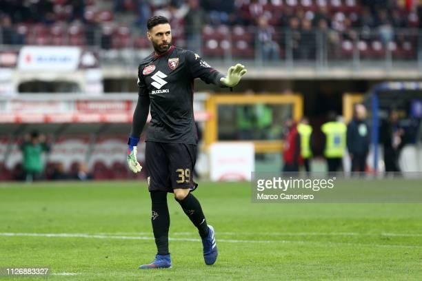 Salvatore Sirigu of Torino FC during the Serie A football match between Torino Fc and Atalanta Bergamasca Calcio Torino Fc wins 20 over Atalanta...
