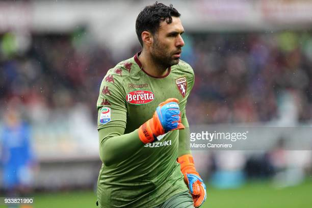 Salvatore Sirigu of Torino FC during the Serie A football match between Torino Fc and ACF Fiorentina ACF Fiorentina wins 21 over Torino Fc