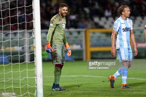 Salvatore Sirigu of Torino FC during the Serie A football match between Torino Fc and Ss Lazio SS Lazio wins 10 over Torino Fc