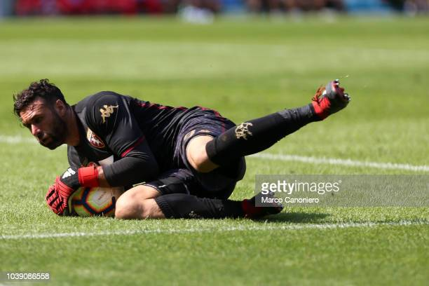 Salvatore Sirigu of Torino FC in action during the Serie A football match between Torino Fc and Ssc Napoli