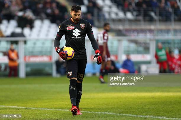 Salvatore Sirigu of Torino FC in action during the Serie A football match between Torino Fc and Genoa Cfc Torino Fc wins 21 over Genoa Cfc