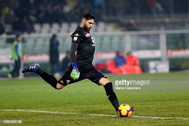 Salvatore Sirigu of Torino FC in action during the Serie A football match between Torino Fc and Fc Internazionale. Torino Fc wins 1-0 over Fc...