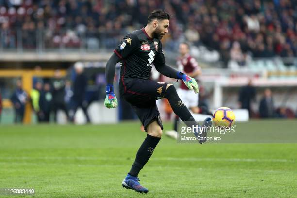 Salvatore Sirigu of Torino FC in action during the Serie A football match between Torino Fc and Atalanta Bergamasca Calcio Torino Fc wins 20 over...