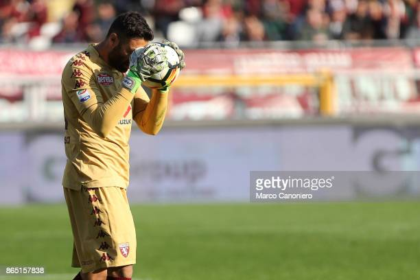 Salvatore Sirigu of Torino FC in action during the Serie A football match between Torino Fc and As Roma As Roma wins 10 over Torino Fc