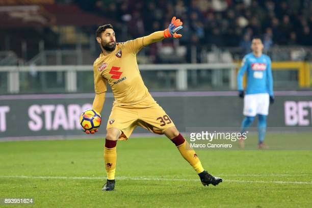 Salvatore Sirigu of Torino FC in action during the Serie A football match between Torino Fc and Ssc Napoli Ssc Napoli wins 31 over Torino Fc