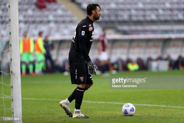 Salvatore Sirigu of Torino FC in action during the Serie A match between Torino Fc and Ss Lazio. Ss Lazio wins 4-3 over Torino Fc.