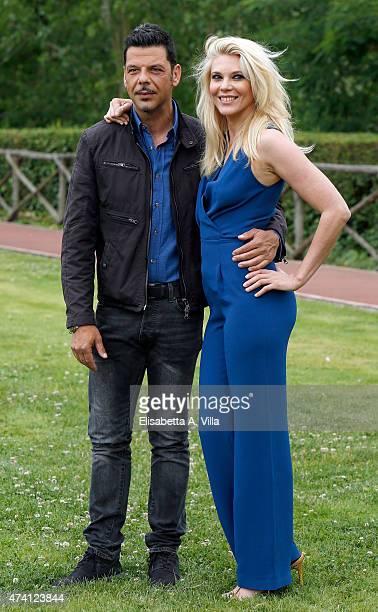 Salvo Sottile and Eleonora Daniele attend 'Estate In Diretta' Tv Show photocall at RAI on May 20 2015 in Rome Italy