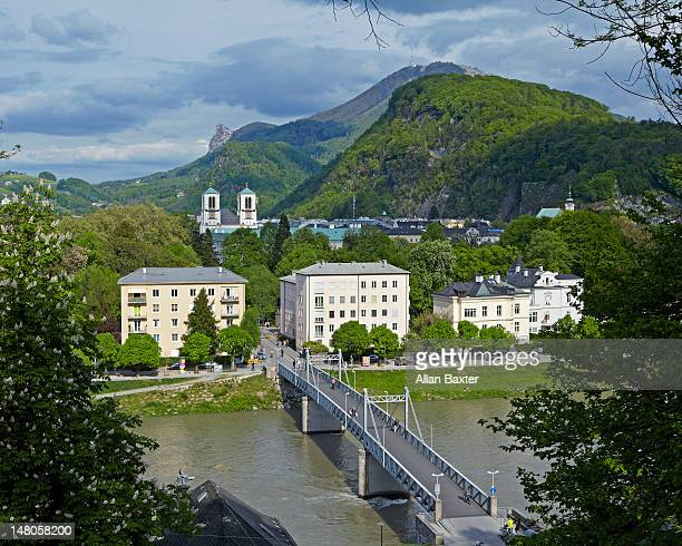 Salzach River and Salzburg