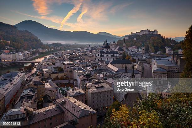 Salzburg at dawn