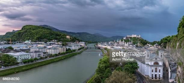 salzburg, austria, europe - achim thomae stock-fotos und bilder