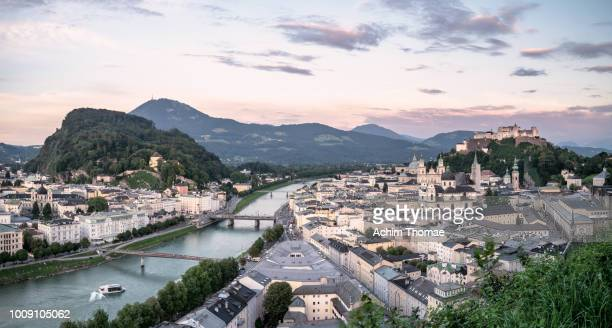 Salzburg Cityscape, Austria, Europe