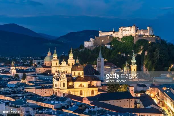 Salzburg Cityscape, Old Town, Austria, Europe