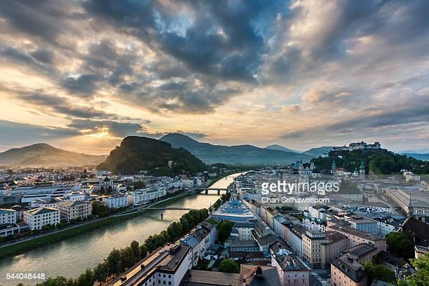 Salzburg viewpoint , Austria