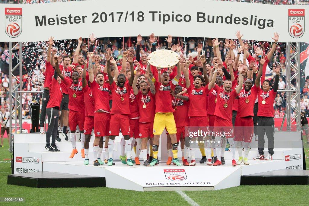 RB Salzburg v SV Mattersburg - tipico Bundesliga
