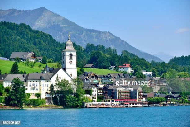 Salzburg's Cityscape, Austria