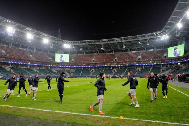 RUS: Lokomotiv Moskva v RB Salzburg: Group A - UEFA Champions League