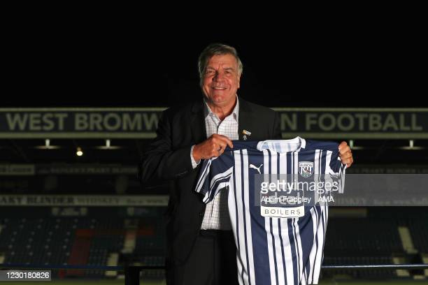 Sam Allardyce head coach / manager of West Bromwich Albion is unveiled as the new head coach / manager at The Hawthorns on December 17, 2020 in West...