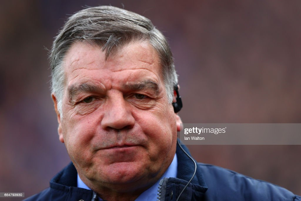 Sam Allardyce, Manager of Crystal Palace looks on prior to the Premier League match between Crystal Palace and Watford at Selhurst Park on March 18, 2017 in London, England.