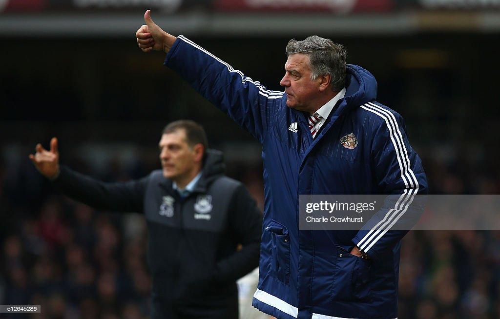 West Ham United v Sunderland - Premier League : News Photo