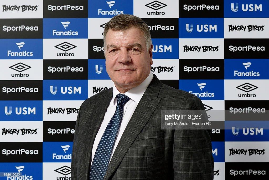 Everton Unveil New Manager Sam Allardyce : News Photo