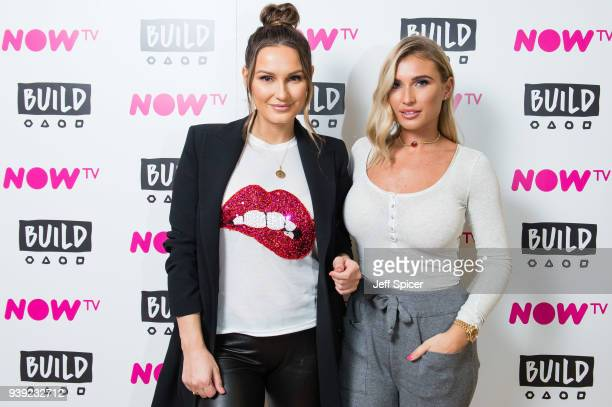 Sam and Billie Faiers arrive for a BUILD panel discussion on March 28 2018 in London England