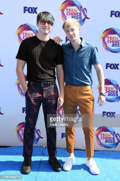 Sam and Colby attend FOX's Teen Choice Awards 2019 on August 11 2019 in Hermosa Beach California