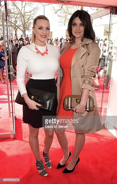 Sam and Nic Chapman aka Pixiwoo attend The Prince's Trust Samsung Celebrate Success Awards at Odeon Leicester Square on March 12 2015 in London...