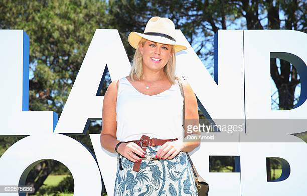 Sam Armytage arrives at Polo In The City at Centennial Park on November 12 2016 in Sydney Australia